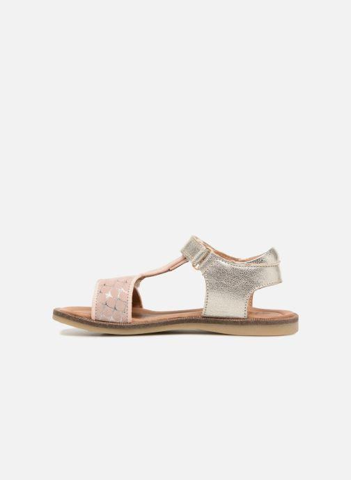 Sandales et nu-pieds Bisgaard Alma Argent vue face