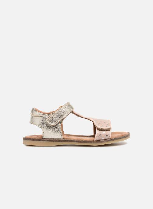 Sandales et nu-pieds Bisgaard Alma Argent vue derrière