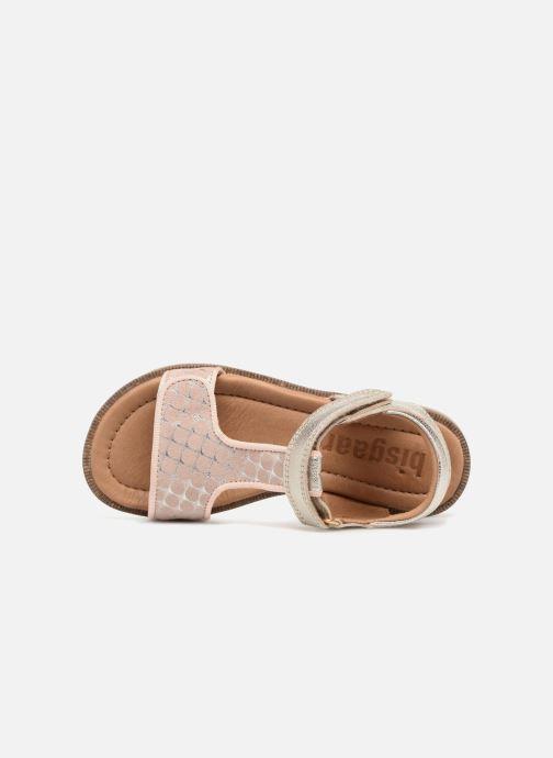 Sandales et nu-pieds Bisgaard Alma Argent vue gauche