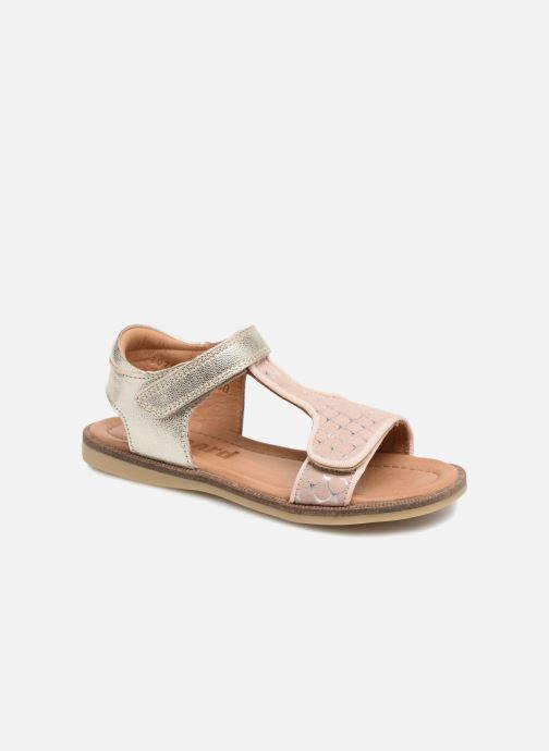 Sandales et nu-pieds Bisgaard Alma Argent vue détail/paire