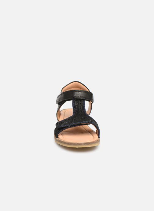 Sandales et nu-pieds Bisgaard Alma Noir vue portées chaussures