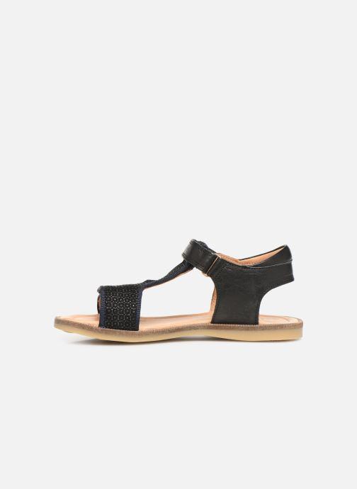 Sandales et nu-pieds Bisgaard Alma Noir vue face