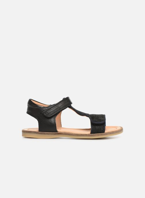 Sandales et nu-pieds Bisgaard Alma Noir vue derrière