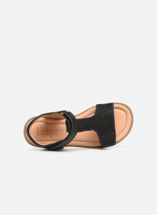 Sandales et nu-pieds Bisgaard Alma Noir vue gauche