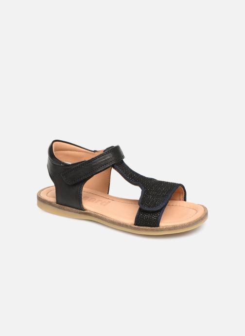 Sandales et nu-pieds Bisgaard Alma Noir vue détail/paire