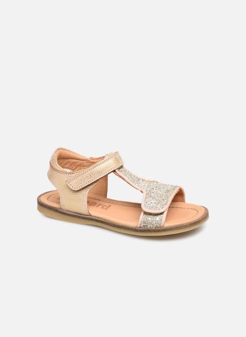 Sandales et nu-pieds Bisgaard Alma Or et bronze vue détail/paire