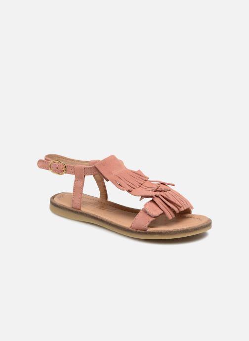 Sandalen Bisgaard Malou rosa detaillierte ansicht/modell