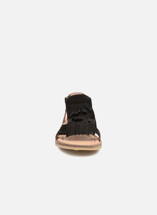 Sandali e scarpe aperte Bisgaard Malou Nero modello indossato