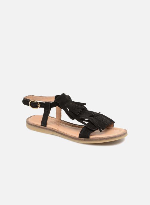 sale retailer a876d 6d4a5 Sandales et nu-pieds Bisgaard Malou Noir vue détail paire