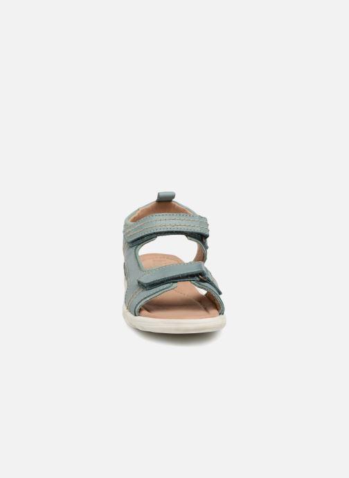 Sandalen Bisgaard Tobyas grün schuhe getragen