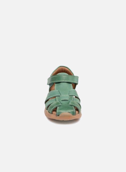 Sandales et nu-pieds Bisgaard Brooke Vert vue portées chaussures