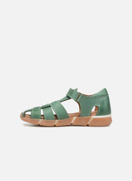 Sandales et nu-pieds Bisgaard Brooke Vert vue face