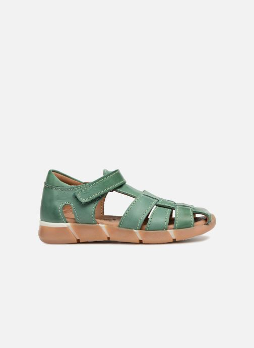 Sandales et nu-pieds Bisgaard Brooke Vert vue derrière