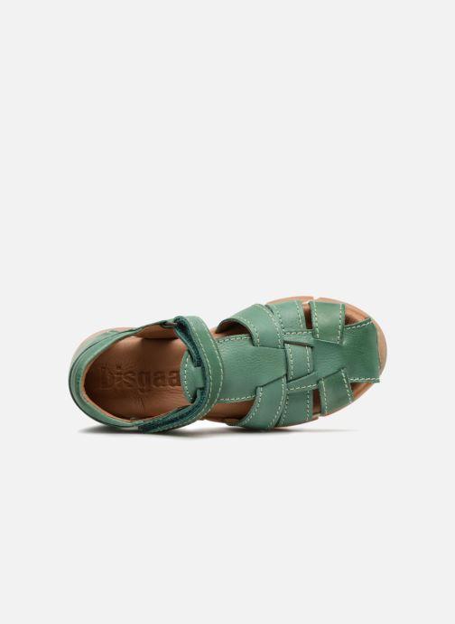 Sandales et nu-pieds Bisgaard Brooke Vert vue gauche
