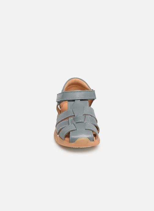 Sandales et nu-pieds Bisgaard Brooke Bleu vue portées chaussures