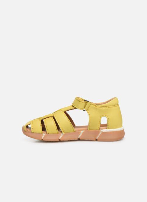 Sandales et nu-pieds Bisgaard Brooke Jaune vue face