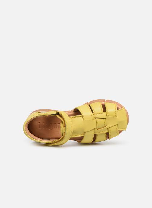Sandales et nu-pieds Bisgaard Brooke Jaune vue gauche