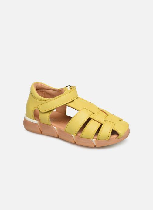 Sandales et nu-pieds Bisgaard Brooke Jaune vue détail/paire