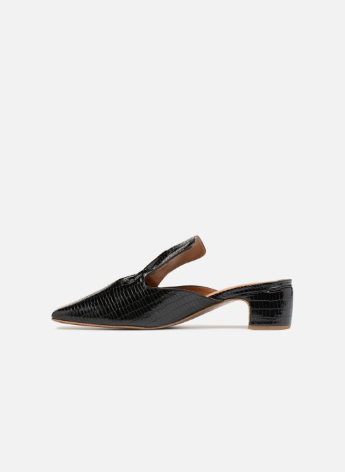 Mules & clogs BY FAR Alexa Black front view