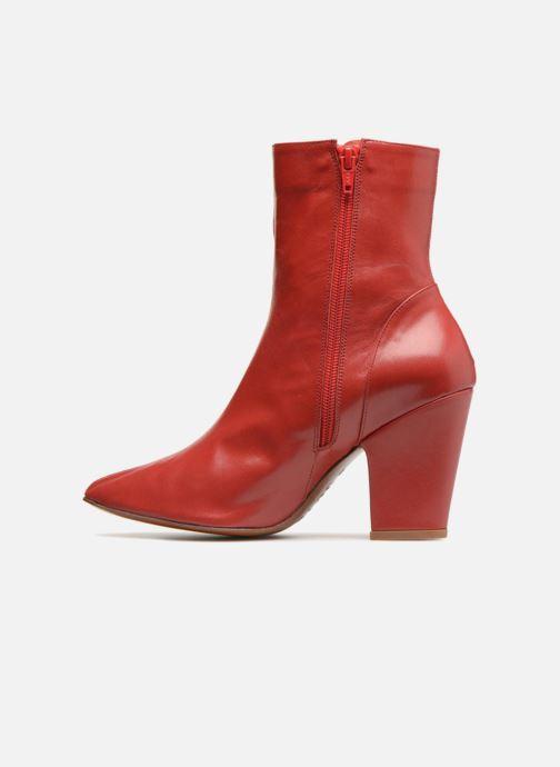 Bottines et boots BY FAR Niki boot Rouge vue face