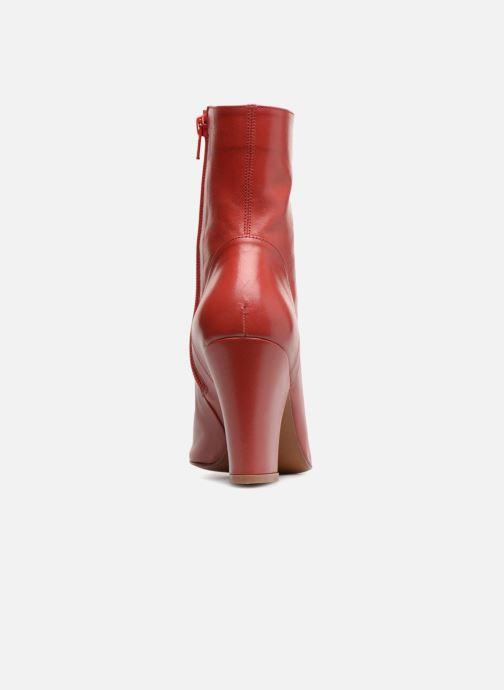 Bottines et boots BY FAR Niki boot Rouge vue droite