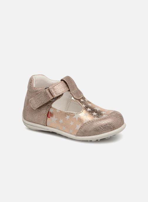 0961a2ea702 Sommersko NA! Adina Guld og bronze detaljeret billede af skoene