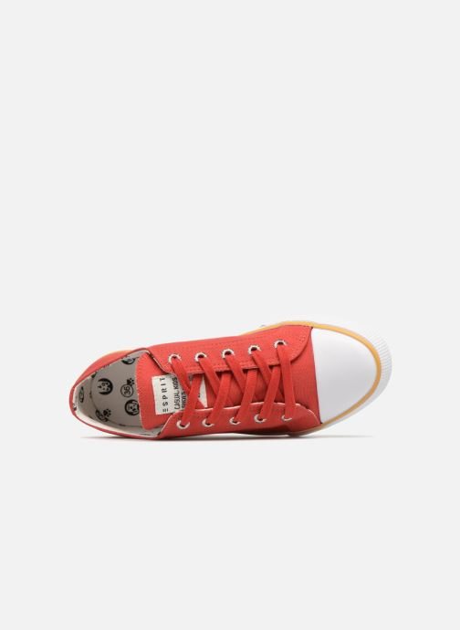 Trainers Esprit Conny Lu Red view from the left