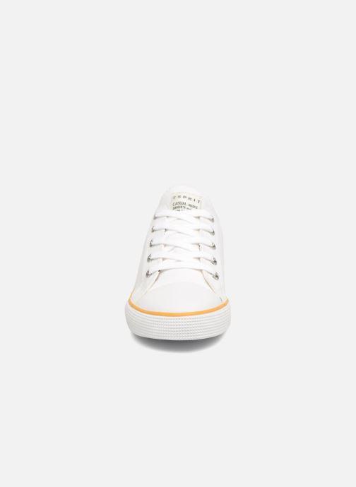Baskets Esprit Conny Lu Blanc vue portées chaussures