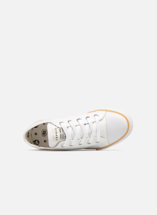 Baskets Esprit Conny Lu Blanc vue gauche