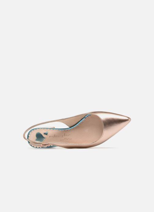 Zapatos de tacón Mellow Yellow Dabrio Rosa vista lateral izquierda