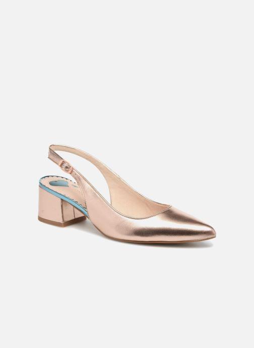 Zapatos de tacón Mellow Yellow Dabrio Rosa vista de detalle / par