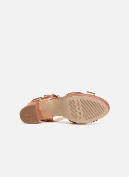Sandali e scarpe aperte Mellow Yellow Dacile Rosa immagine dall'alto