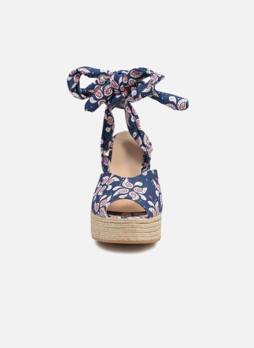 Espadrilles Mellow Yellow Drelya Bleu vue portées chaussures