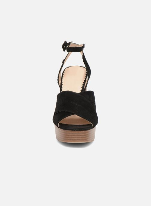 Sandales et nu-pieds Mellow Yellow Darbrienne Noir vue portées chaussures