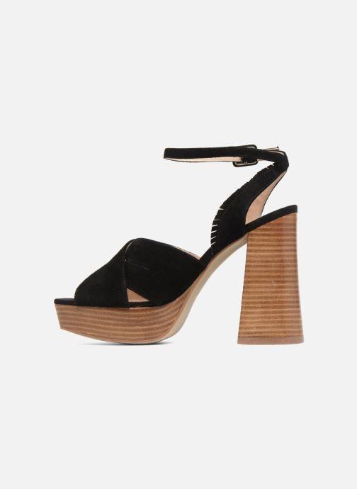 Sandales et nu-pieds Mellow Yellow Darbrienne Noir vue face