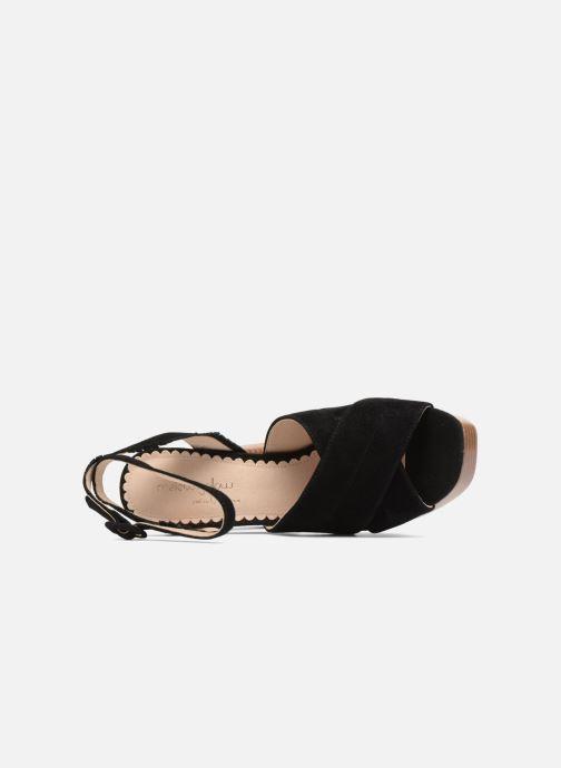 Sandales et nu-pieds Mellow Yellow Darbrienne Noir vue gauche