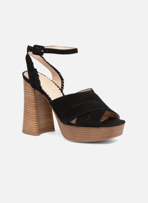 Sandales et nu-pieds Mellow Yellow Darbrienne Noir vue détail/paire