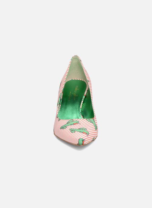 Zapatos de tacón Mellow Yellow Dechoupino Rojo vista del modelo