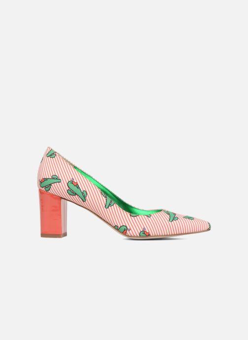 Zapatos de tacón Mellow Yellow Dechoupino Rojo vistra trasera