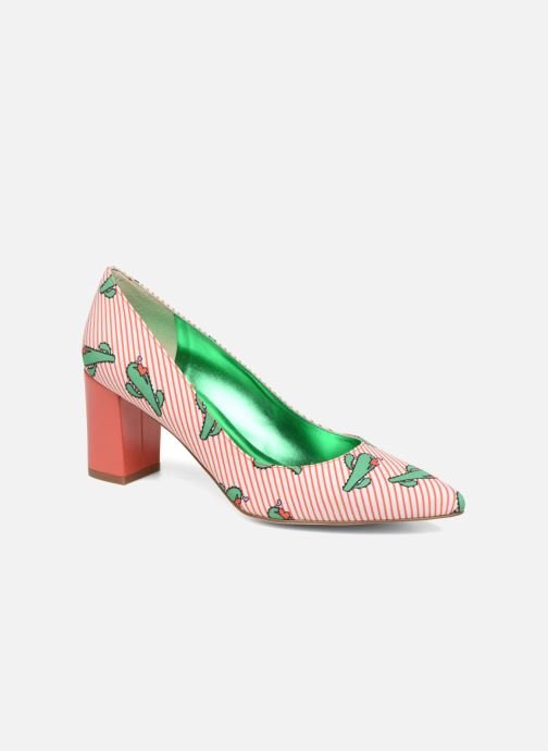 Pumps Mellow Yellow Dechoupino Rood detail