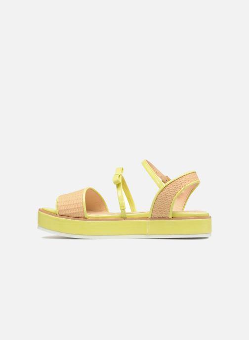 Sandales et nu-pieds Mellow Yellow Dollynou Jaune vue face