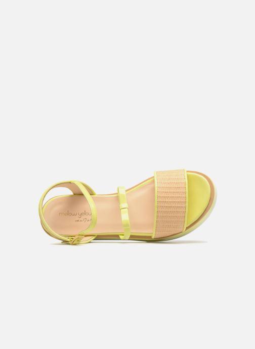 Sandalias Mellow Yellow Dollynou Amarillo vista lateral izquierda