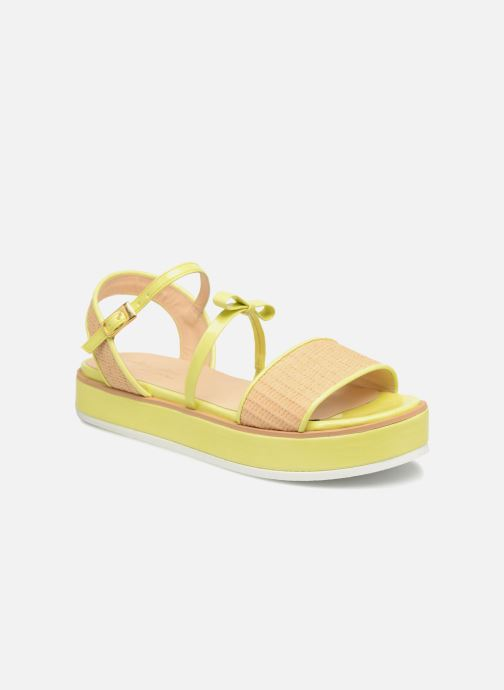 Sandales et nu-pieds Mellow Yellow Dollynou Jaune vue détail/paire
