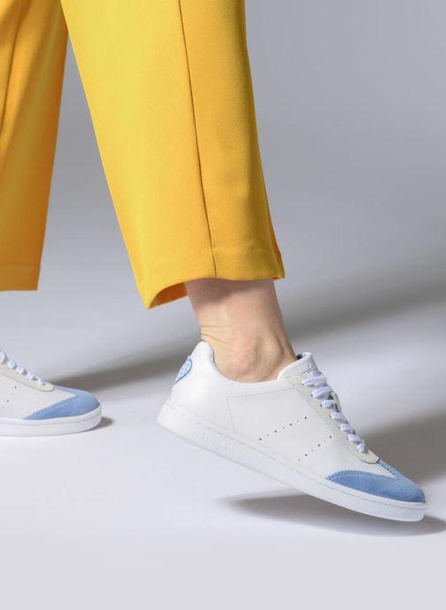 Baskets Mellow Yellow Dallow Blanc vue bas / vue portée sac