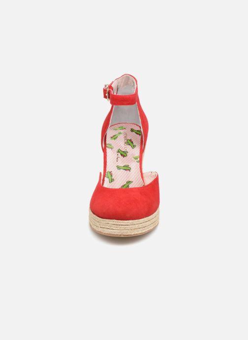 Scarpe di corda Mellow Yellow Depepina Rosso modello indossato
