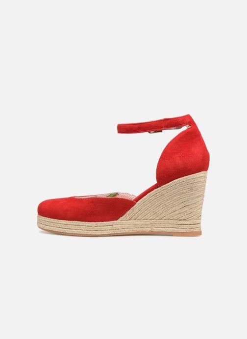 Espadrilles Mellow Yellow Depepina Red front view