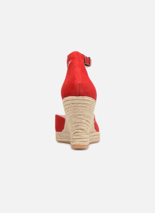 Espadrilles Mellow Yellow Depepina Rouge vue droite