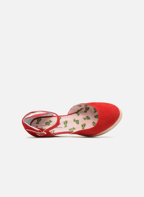 Espadrilles Mellow Yellow Depepina Red view from the left