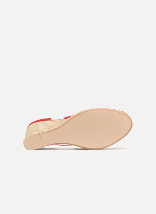 Espadrilles Mellow Yellow Depepina Red view from above