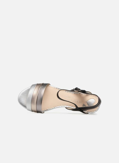 Sandales et nu-pieds Mellow Yellow Dany Noir vue gauche